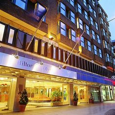 Stay at the Hilton London Olympia hotel on bustling Kensington High Street, a five-minute walk from the Olympia Exhibition Centre.