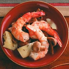 Dress up your buffet table with this tasty shrimp recipe. You'll have time to enjoy your party because this appetizer is that easy.   Make-Ahead Marinated Shrimp Recipe from Taste of Home
