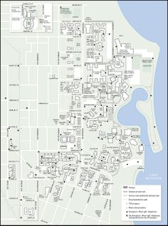 Northwestern University Evanston Campus Map.12 Best Ar Map Inspiration Images Campus Map Blue Prints Cards