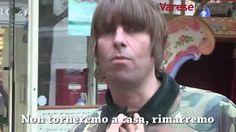 """Liam Gallagher a Varese: """"Qui per i cavalli e la pizza"""""""