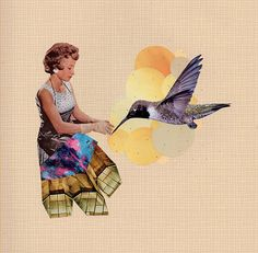 collage art by Laura Redburn