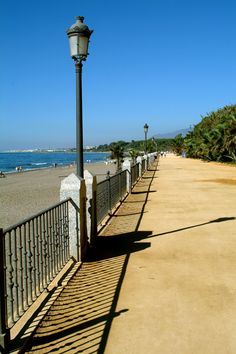 #Marbella #seafront #spain  #beach #bluesky