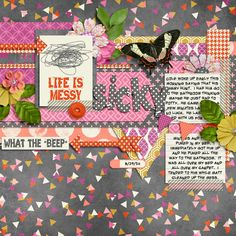 Life is Messy by Meghan Mullens and Melissa Bennett  Soapbox by Little Green Frog Designs
