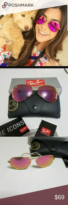 Ray ban aviator Rb 3025 Ray ban aviator made in Italy brand new with box case and cleaning cloth size 58mm Ray-Ban Accessories Sunglasses