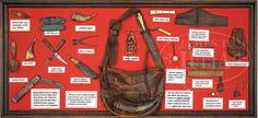 Contemporary Makers: Rifle and Hunting Pouch Carried by David Cooke Bushcraft Pack, Adventure Time Tattoo, Mountain Man Rendezvous, Shooting Bags, Longhunter, Black Powder Guns, Man Gear, Fur Trade, Belt Pouch