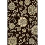 Bazaar Gal 2408-Brown 7 ft. 10 in. x 10 ft. 1 in. Area Rug