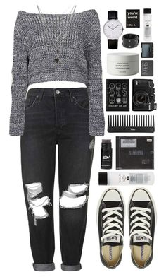 """You Know You're Right"" by ellac9914 ❤ liked on Polyvore featuring Topshop, Boohoo, Converse, Sephora Collection, Byredo, Koh Gen Do, MANGO, NARS Cosmetics, casual and look"