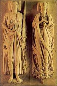 Matilda Plantagenet (right), daughter of Henry II of England and Queen Eleanor of Aquitaine Birth:1156 Death: Jun. 28, 1189. Married Henry the Lion Duke of Saxony (left).