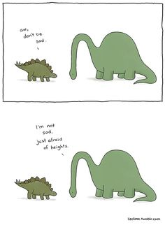 """The small world of Liz"", a selection of small cute comics created by American illustrator Liz Climo, which features some very adorable animals in funny and t Memes Humor, Funny Memes, Jokes, Funny Cute, The Funny, Hilarious, Liz Climo Comics, Rage Comic, Beste Comics"
