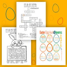 A Punny Easter Egg Hunt for Teens! - Sunshine and Rainy Days