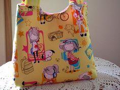 Tote Purse  Child Boutique Toddler Washable by Antiquebasketlady, $16.99 #teamsellit #SYLink