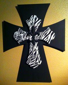 Decorative Wooden Cross by amandafugitt on Etsy, $25.00
