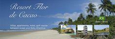 BRASILE - Villas, apartments, hotel, golf course between Ocean and Mata Atlantica