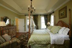 The Cedar Ridge - Plan# 1125-D - traditional - bedroom - charlotte - Donald A. Gardner Architects