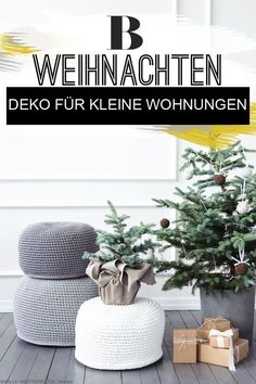 Do it yourself: Christmas decoration ideas for small apartments. You have a small apartment and you have to forgo a Christmas tree? Then take a look at these ideas, which provide a festive atmosphere Good Environment, Ikea Furniture, Furniture Storage, Diy Interior, Simple Colors, Furniture For Small Spaces, Home Hacks, Small Apartments, Diy Home Decor