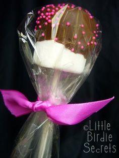 Valentine Marshmallow Pop