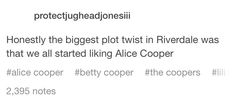 #Riverdale #AliceCooper #true