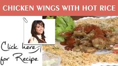 Nice Tarka Recipe Chicken Wings with Hot Rice by Chef Rida Aftab Masala TV 27 April 2016 #dinner  #lunch  #RecipeOfTheDay  #Recipes