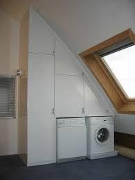 Afbeeldingsresultaat voor zolder wasmachine schuine