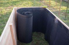 Hochbeet Noppenfolie (Woodworking Garden)