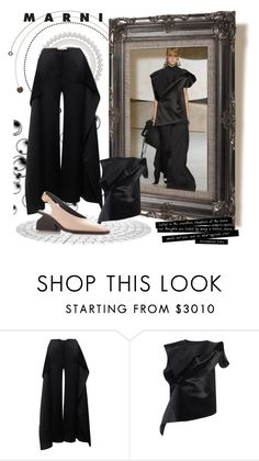 """Untitled #849"" by fl4u ❤ liked on Polyvore featuring Marni"