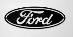 Ford License Plate on Black Steel Metal Projects, Metal Crafts, Ford Emblem, Plasma Cutter Art, Cnc, License Plate Covers, Fairy Jars, Wood Burning Art, Plasma Cutting