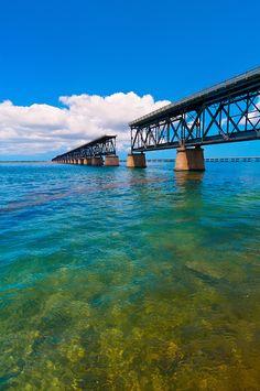 Old Bahia Honda Bridge, Bahia Honda State Park, Big Pine Key, Florida Keys, Florida - Photo by Blaine Harrington III