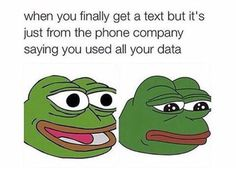 How do I use all my data if I have no friends to talk to?