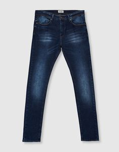 Jeans superskinny fit azul - Jeans - Ropa - Hombre - PULL&BEAR México