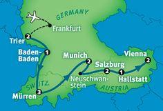 Germany Tour - Germany, Austria & Switzerland in 14 Days by Rick Steves