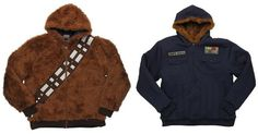 For the days when you feel (and look) like a walking carpet, and the days you feel like the most bada$$ person around--this Star Wars Chewbacca/Han Solo Reve...