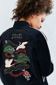 Adidas Originals by Rita Ora Reversible Souvenir Bomber Jacket.