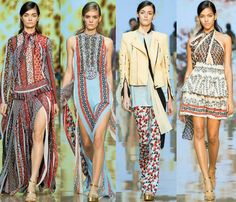 Just Cavalli Spring 2015 Ready-to-Wear Collection at Milan Fashion Week #mfw