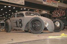 Rat Rod VW Beetle by Kari Strunk, via Flickr