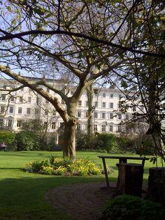A tucked away square in London, Eccleston Square Hotel