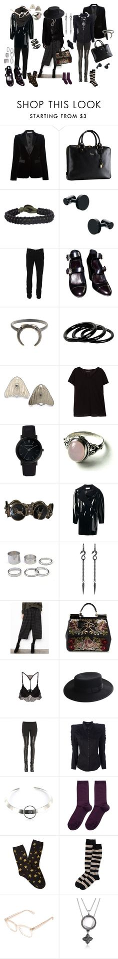 """3 outfits for Drake-ish"" by lemon-pirating-sea-raptor ❤ liked on Polyvore featuring Givenchy, Mark/Giusti, Icon Brand, SELECTED, rag & bone, Chanel, Furla, Zarah Voigt, Violeta by Mango and Larsson & Jennings"