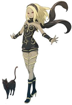 Kat & Dusty from Gravity Rush 2