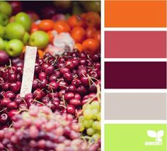 color palette for jewelry making inspiration