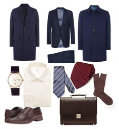 """""""Формально"""" by explorer-147827380710 on Polyvore featuring AMI, Chester Barrie, Pal Zileri, Brioni, men's fashion и menswear"""