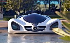 The mercedes-benz BIOME is a concept car unveiled at a November 2010 auto show. The Benz BIOME is developed from seeds sown in a nursery. Then, during it's lifespan on the road, this concept car emits oxygen and ultimately may be composted. Mercedes Benz Biome, Mercedes Amg, Future Concept Cars, Future Car, Future Tech, Dream Cars, Bugatti Veyron, Chevrolet Corvette, Exotic Sports Cars