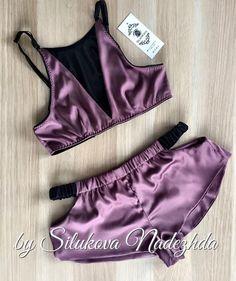 New model pajamas. Sexy Lingerie, Sewing Lingerie, Jolie Lingerie, Lingerie Outfits, Pretty Lingerie, Lingerie Sleepwear, Women Lingerie, Nightwear, Body Suit Outfits