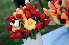 Take ideas from other events and tweak them to become yours.  chocolate fountain at a wedding | Dessert Table ideas??? | Weddings, | Wedding Forums | WeddingWire.