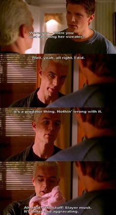 Buffy The Vampire Slayer Spike caught in the act! Best Tv Shows, Movies And Tv Shows, Favorite Tv Shows, Buffy The Vampire Slayer Funny, Spike Buffy, Joss Whedon, I Laughed, Tv Series, Fangirl