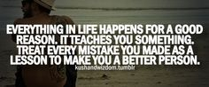 Life's Lessons