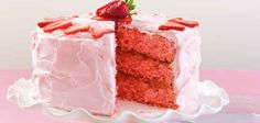 Strawberry Pineapple Cake - OMG this looks amazing! Strawberry Pineapple Cake Recipe, Strawberry Cream Cheese Frosting, Just Desserts, Delicious Desserts, Yummy Food, Sweet Desserts, Cake Recipes, Dessert Recipes, Quick Dessert