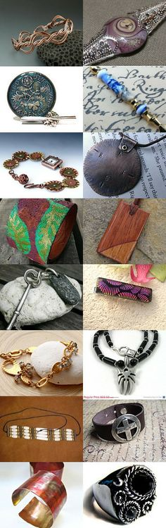 SRAJD Tuesday Treasury - Dads Features JET members #RoughMagicCreations #ArtJewelerNYC
