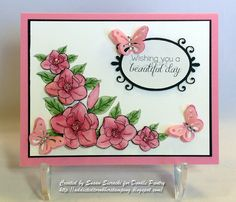 Beautiful Day - Handmade Card by Susan Sieracki; images by Doodle Pantry