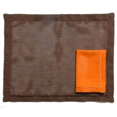"""Ponti's Foresta Table mats & napkins are chosen to add elegance & modern look to your table. 100% polyester woven in France. Designed by Ponti Home.  1 set includes 1 Table mat and 1 Napkin. Minimum order 2 sets Color Table mat: Dark Brown - Napkin: Orange. Place mat size = 38 x 50 cm - 15"""" X 20"""" Napkin size = 40 x 40 cm - 16"""" X 16""""  To order: www.pontihome.com . . #livingroomdecor #livingroomdesign #sofa #mo19 #interior123 #myhome #lovemyhome #decorate #decoración #homedesign #interiorinspo… Living Room Designs, Living Room Decor, Bath Table, 2 Set, Table Linens, Luxury Homes, Dark Brown, House Design, Modern"""