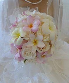 挙式&ビーチブーケ&花冠&リストレットの画像 | Sweet Hawaii Wedding♡VeraWang♡