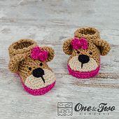 Cute baby booties.
